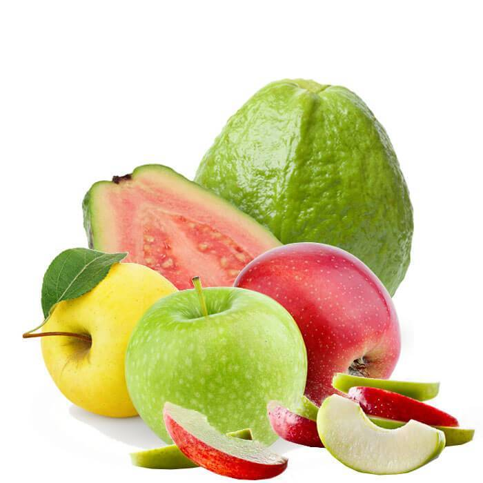 Apples-Guava Antioxidant rich fruit juices help prevent cancer.  %Post Title, %Image Name