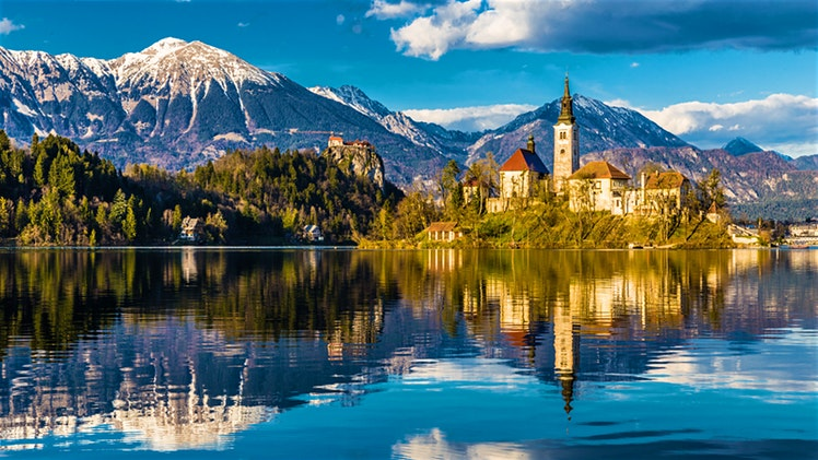 Lake-Bled Top 10 most beautiful waterfalls on the planet.