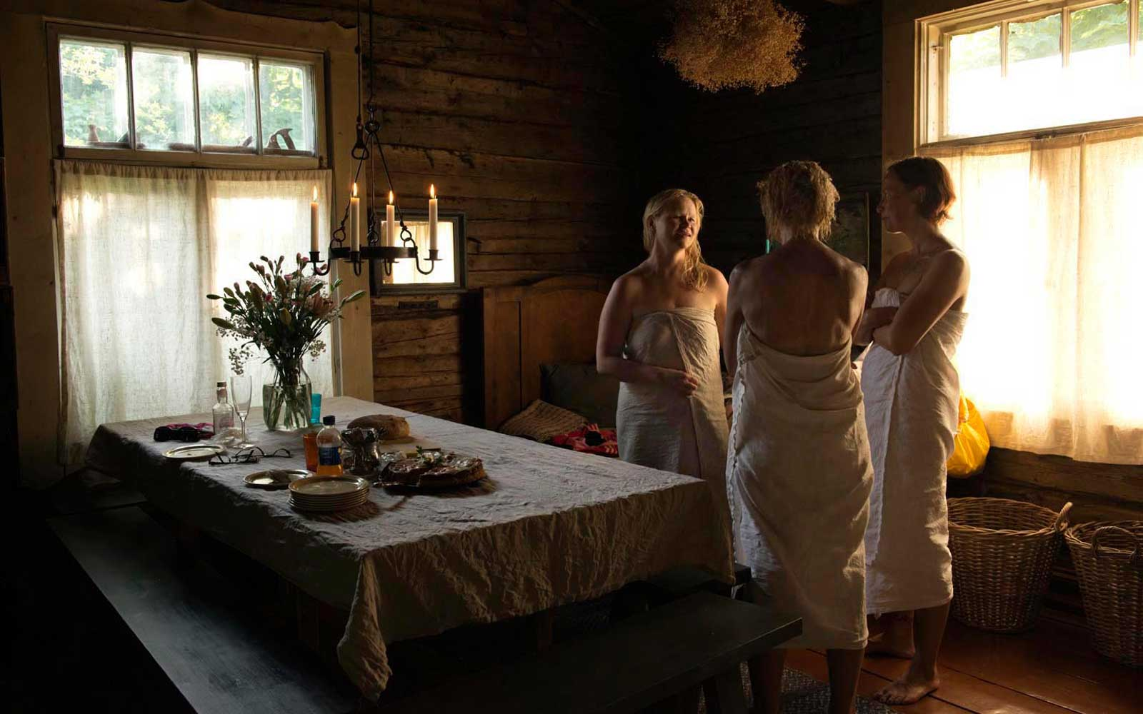 Meeting-in-the-sauna-Finland How to treat depression with foods?