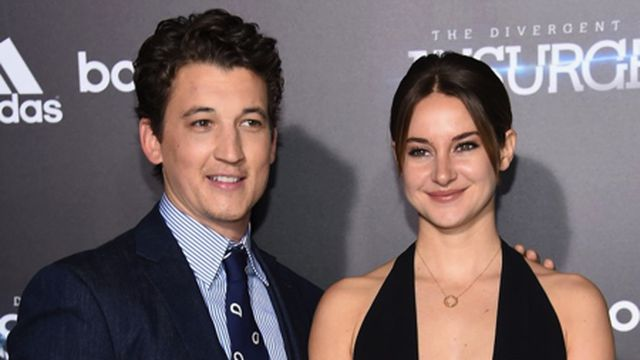 Miles-Teller-and-Shailene-Woodley When the movie stars refused with the kiss scenes.