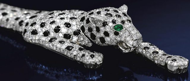 Onyx-and-Diamond-Panther-Bracelet Top 10 most beautiful diamonds in the world.  %Post Title, %Image Name