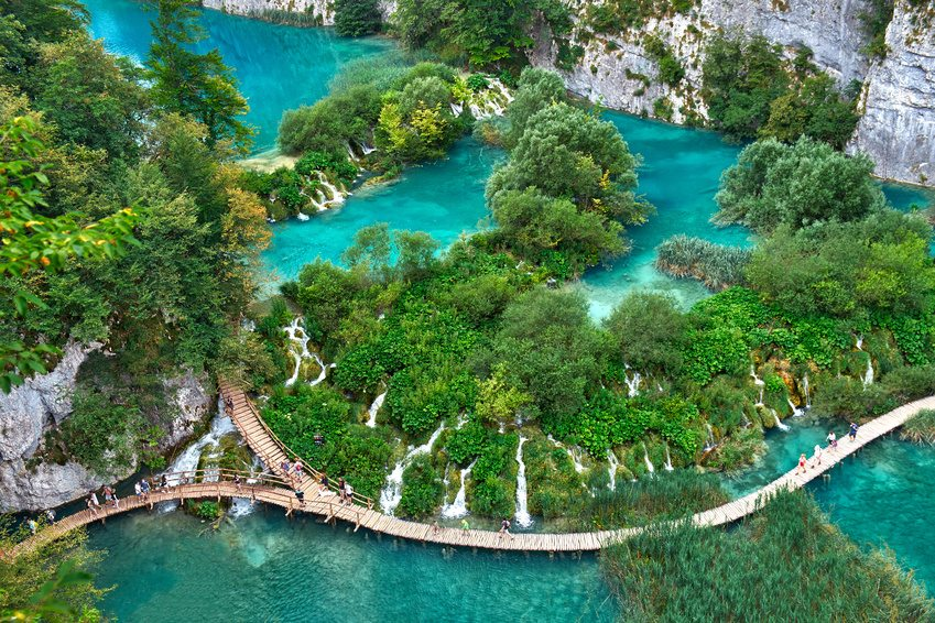 """Plitvice-National-Lake The """"funeral"""" in Egypt."""