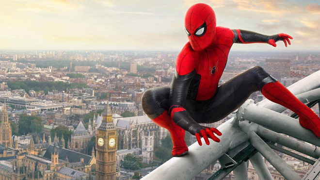 Spider man  Marvel release the ' Spider Man far from home ' early in China.
