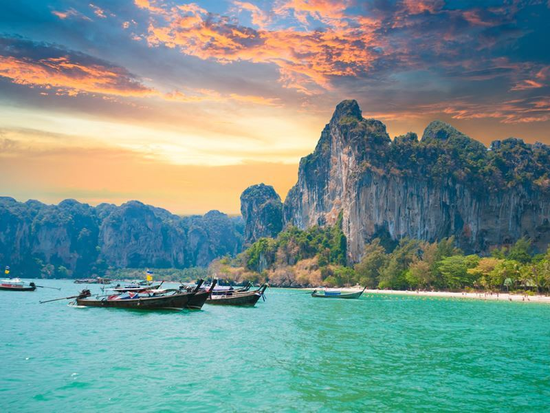 Thailand Top 10 countries that travelers can survive the longest with a budget of 700 USD.
