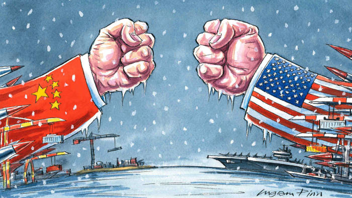 US-China-trade-war Warren Buffett warned that escalating US-China trade war will negatively affect the world.