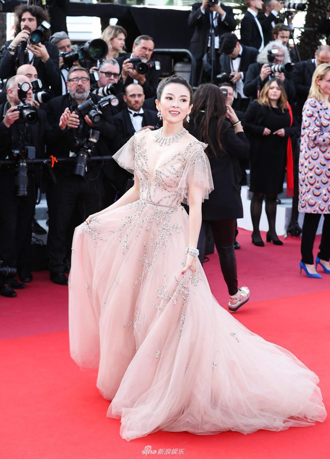 Zhang-Ziyi Impressive dresses at Cannes red carpet 2019