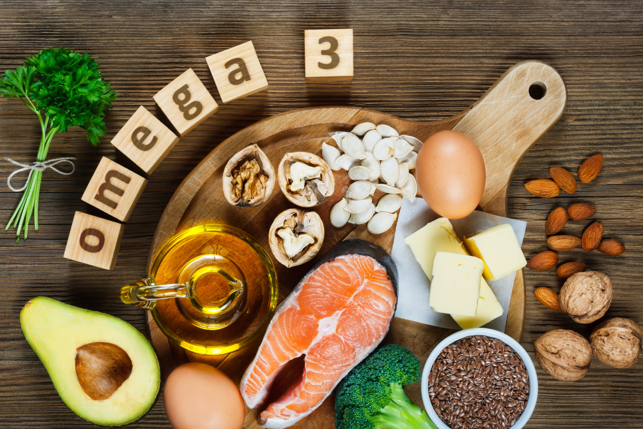 omega-3-platter How to treat depression with foods?