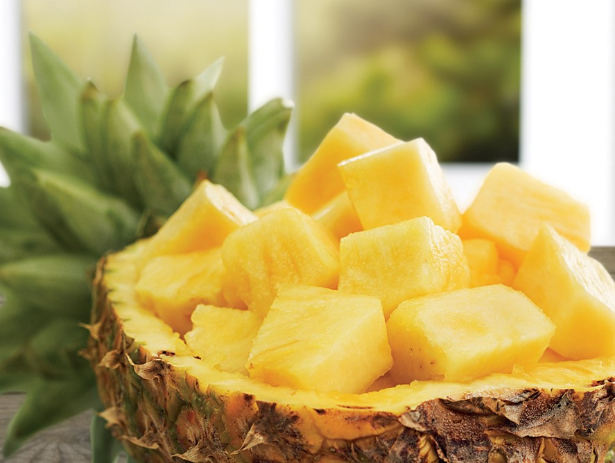 pineapple The vegetables should not be overcooked.  %Post Title, %Image Name