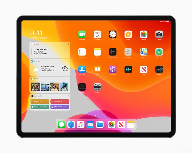Apple-iPadOS-1 Apple wants the iPad to replace both laptop / tablet and console games.
