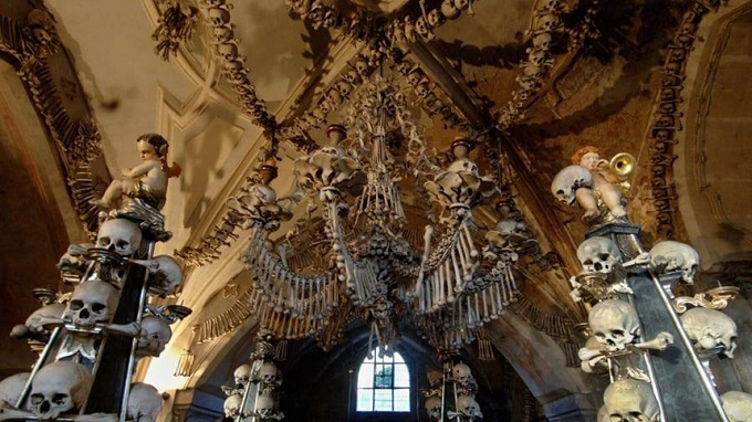 The-church-is-built-from-40000-human-bones The church is built from 40,000 human bones.