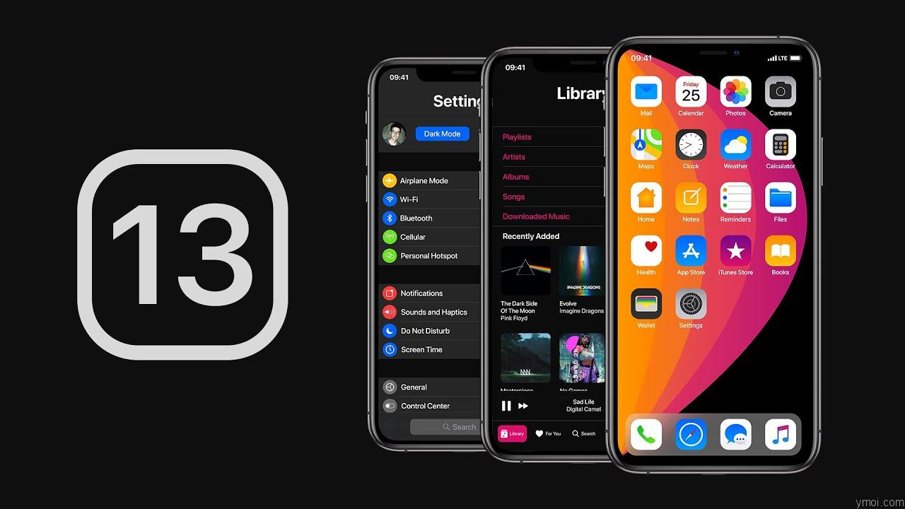 ios13 What's new in iOS 13?