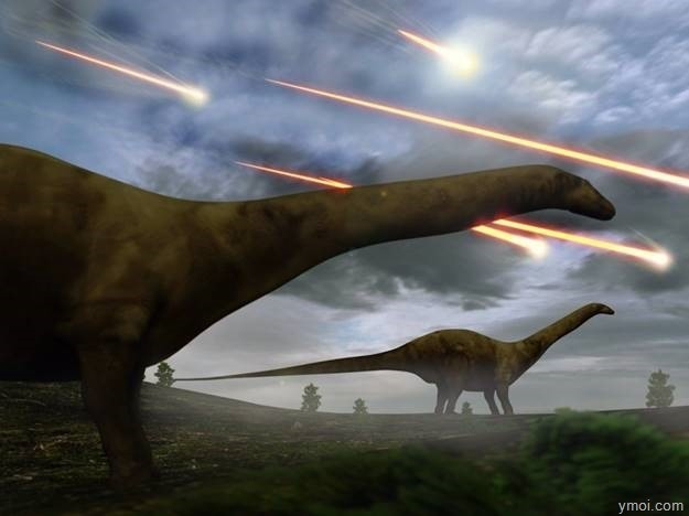 clip_image006-3 Dinosaurs extinct by the collision has the power of 10 billion atomic bombs.